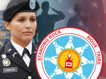 Tulsi Gabbard And Thousands Of Veterans To Confront Militarized Police At Standing Rock