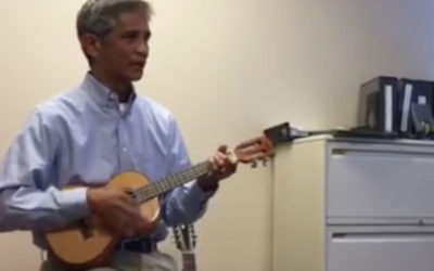 Boss And His Ukulele Leaves Employee In Tears