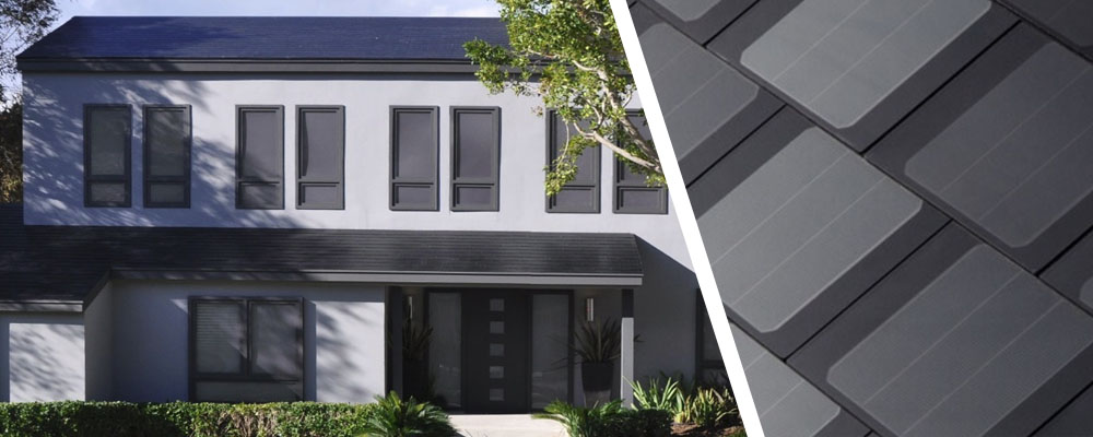 Tesla's Smooth Glass Solar Roof Tiles
