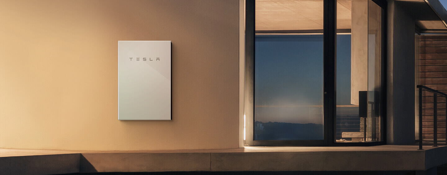 Tesla Powerwall Battery (tesla.com/powerwall)