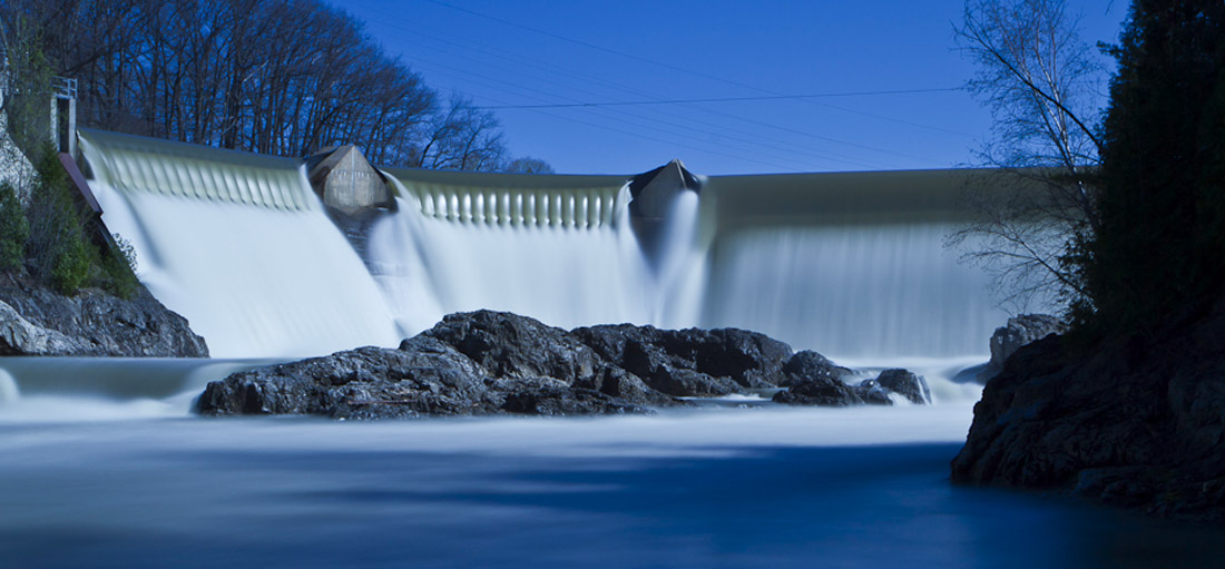 A Hydroelectric Dam on the Winooski River (Andrew Gimino Photography)
