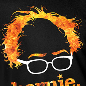 Flaming Bernie Sanders Shirt