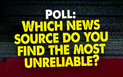 Which News Source Do You Find The Most Unreliable?
