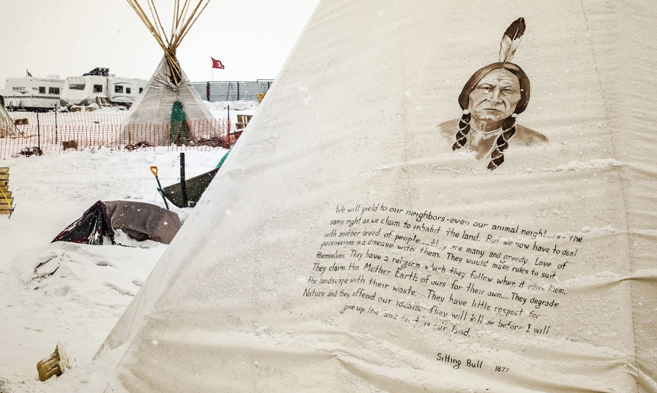 Sitting Bull Tipi Art