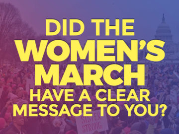 Did The Women's March Have A Clear Message?