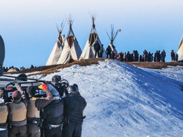 New Treaty Camp Raided By Police; Mass Arrests Including Chase Iron Eyes