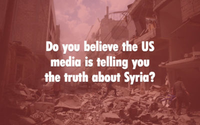 Poll: Is The Media Telling The Truth About Syria?