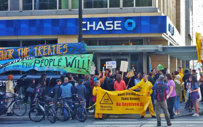 26 Arrested As Seattle Indigenous Activists & Allies Shut Down 13 Chase Banks