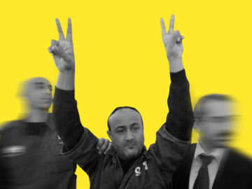 Marwan Barghouti - Leader of the hunger strike.