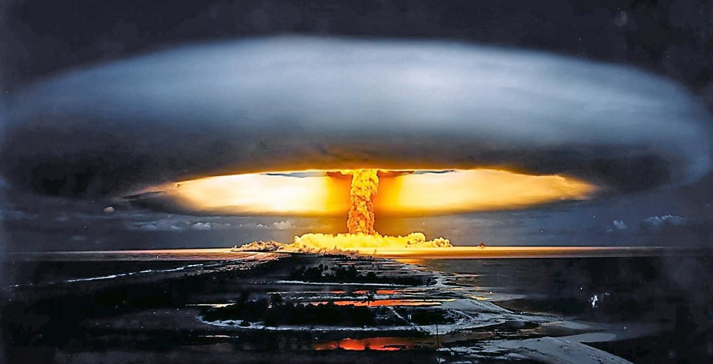 DNC Election Fraud - Nuclear Bomb Photo by Pierre J