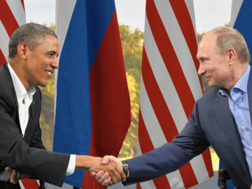 Obama Meets With Putin At The G8 Summit 2013