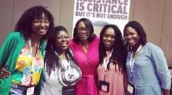 Anoa J Changa with Nina Turner