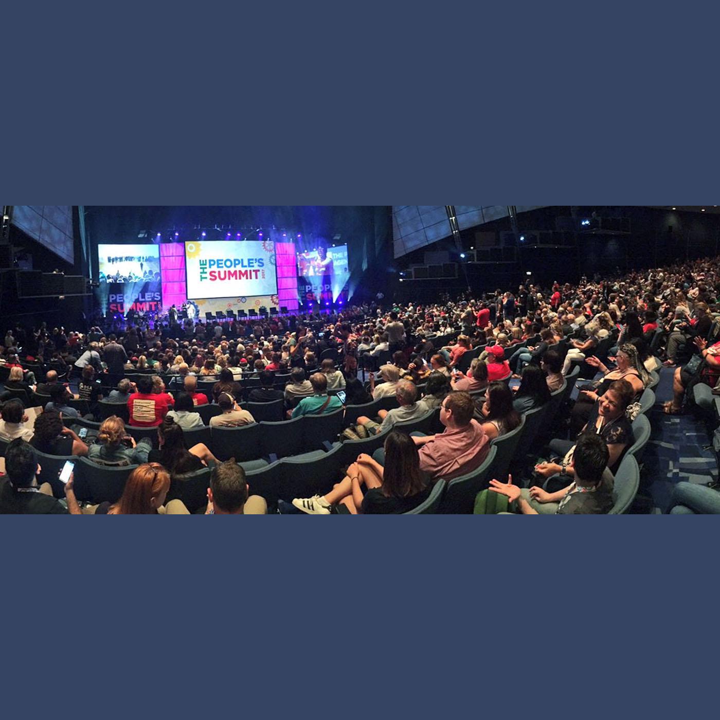 The People's Summit - Photo via National Nurses United