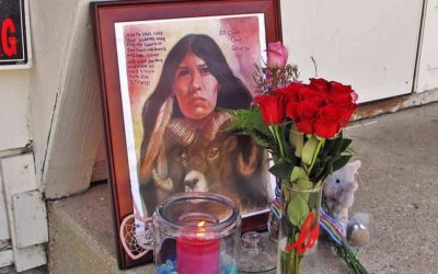 Fargo Residents Create Memorial At Savannah Greywind's Apartment; Neighbors Charged With Kidnapping