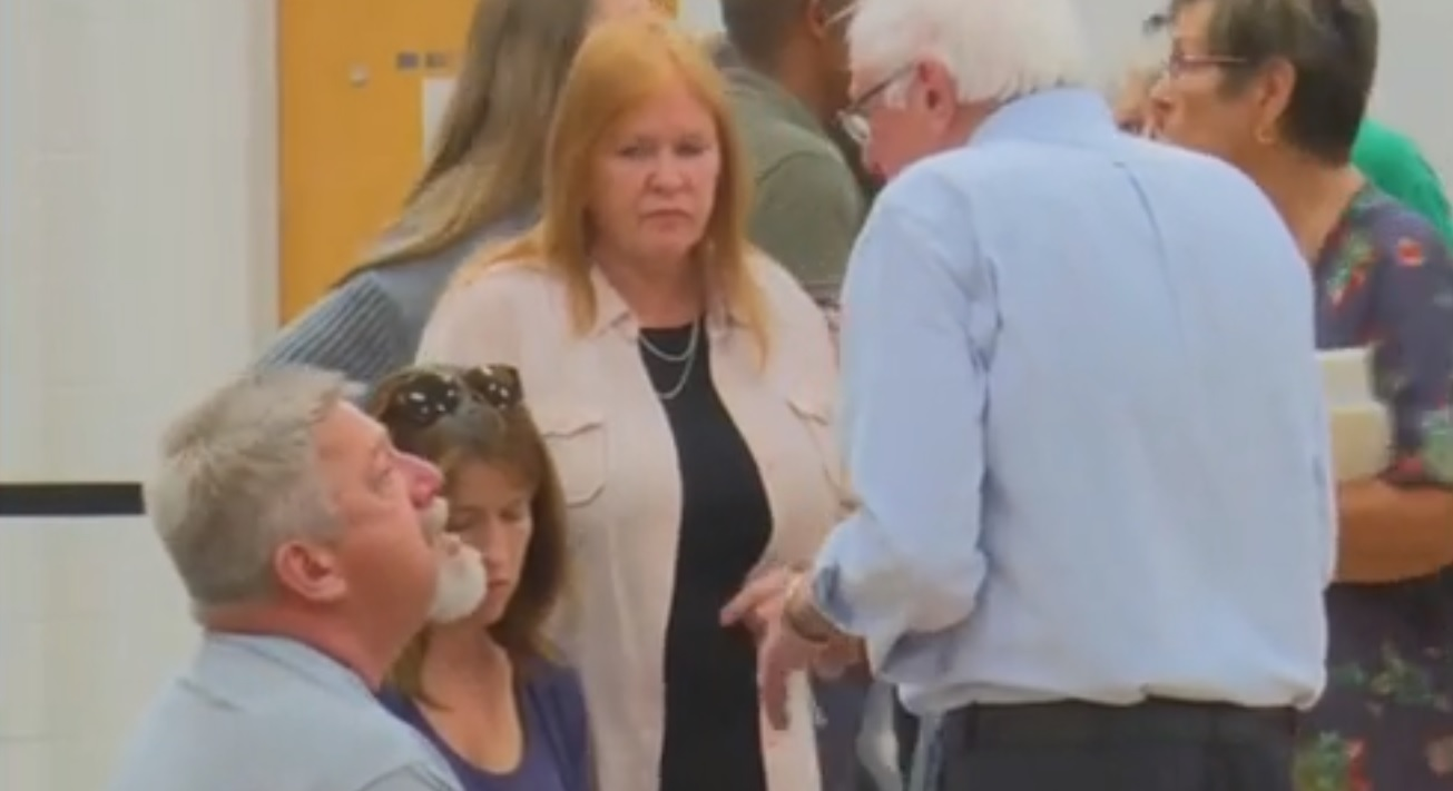 Navy Veteran Tells Sanders 'I'm Going To Kill Myself' At Nevada Town Hall