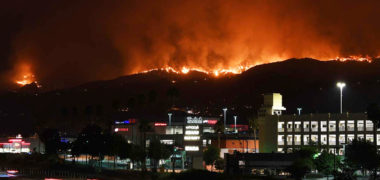 Largest Fire In Los Angeles History Still Burning, Governor Declares State of Emergency